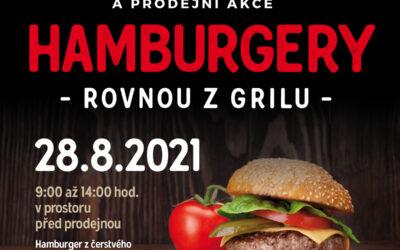 Velká hamburgerová grilovačka pro velký úspěch ještě jednou